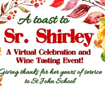 A Toast to Sister Shirley – Virtual Wine Tasting Celebration