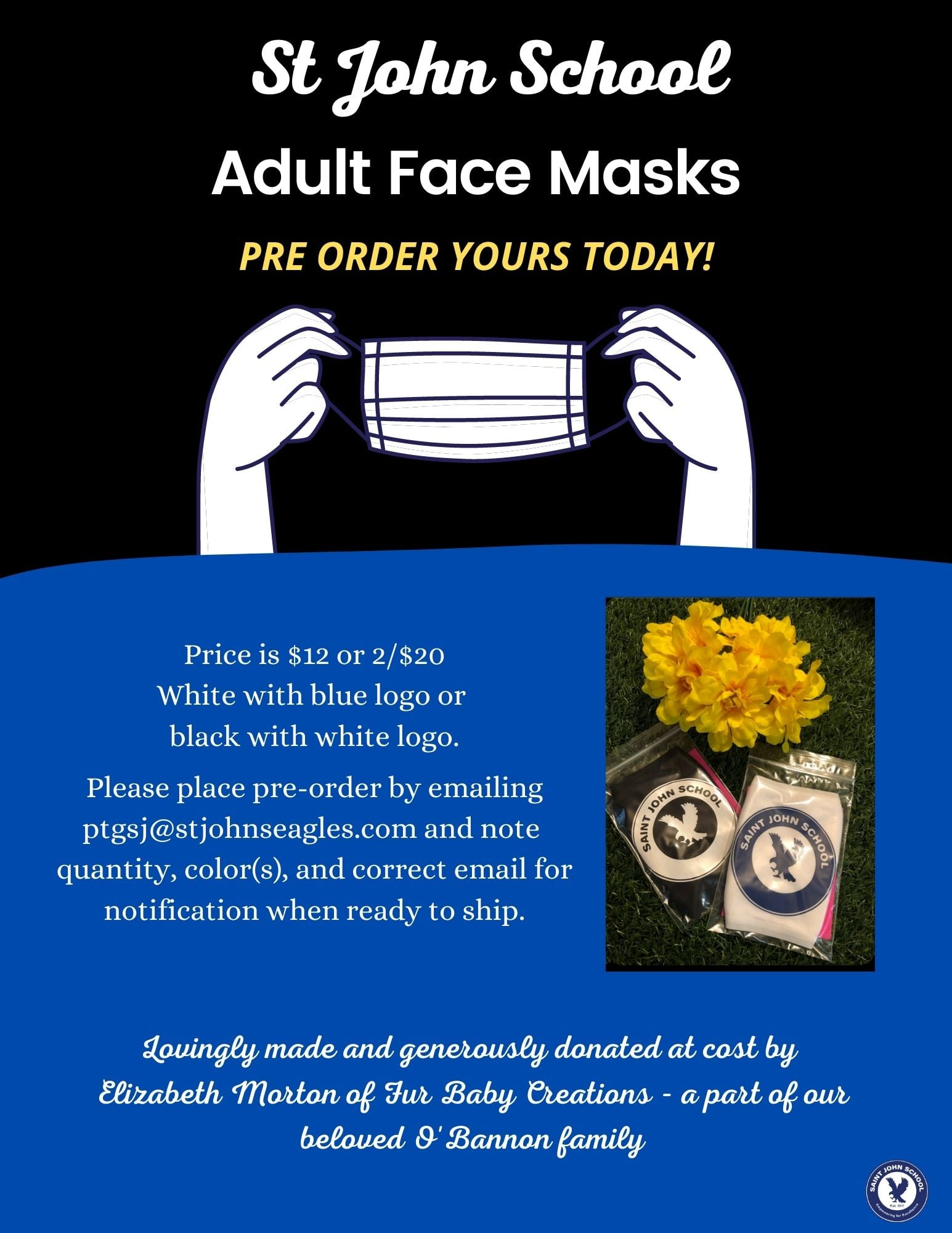 St. John Face Masks – Order Yours Today